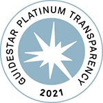 Guidestar Platinum Seal of Transparency 2021